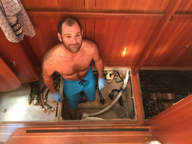 Brian in the bilge