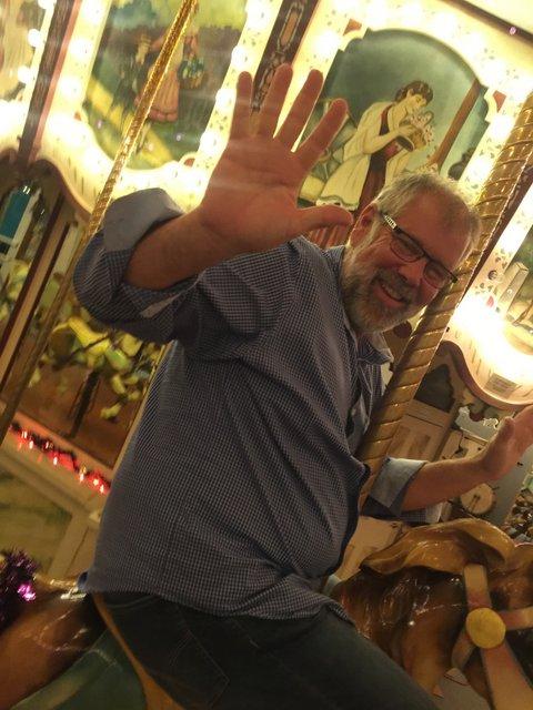 Jeff on the Carrousel.JPG