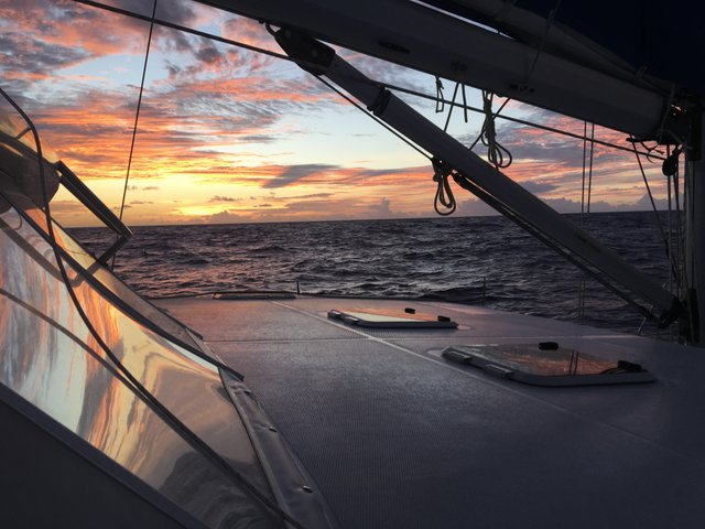 One of 12 Beautiful Sunsets at sea